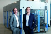 Rainer DallaRosa (right) succeeds Fritz Kipfer as MD at Schubert North America