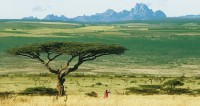 Optimal cultivation conditions around Mount Kenia, ...